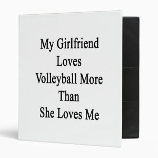 My Girlfriend Loves Volleyball More Than She Loves Binders