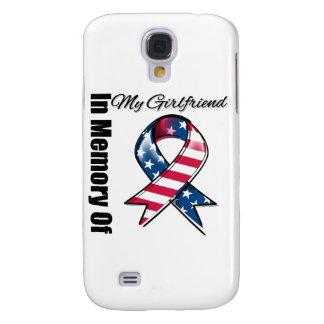 My Girlfriend Memorial Patriotic Ribbon Samsung S4 Case
