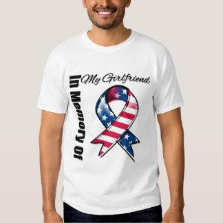 My Girlfriend Memorial Patriotic Ribbon Shirt