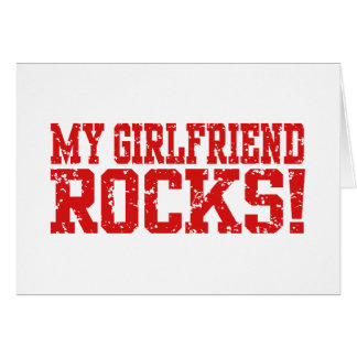 My Girlfriend Rocks Card