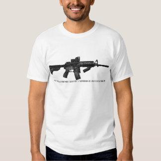 My Girlfriend Says I Should Accessorize AR15 Shirt