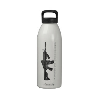 My Girlfriend Says I Should Accessorize AR15 Water Bottle