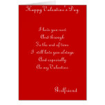 My girlfriend valentines greeting cards