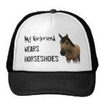 My Girlfriend Wears Horseshoes - Buckskin Trucker Hat