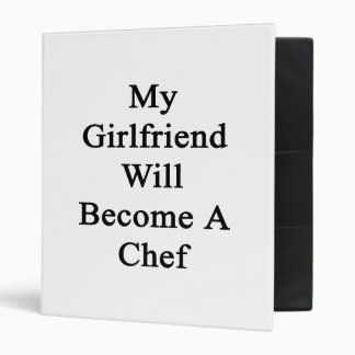 My Girlfriend Will Become A Chef Binders