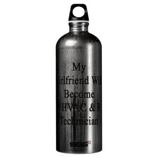 My Girlfriend Will Become A HVAC R Technician SIGG Traveler 1.0L Water Bottle