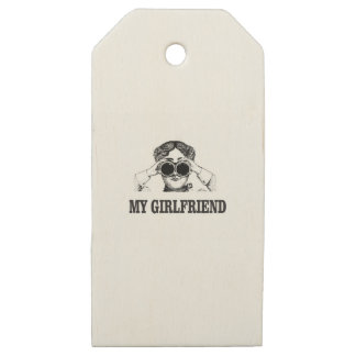 my girlfriend wooden gift tags