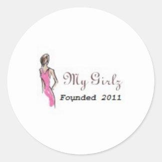 My Girlz -Sticker