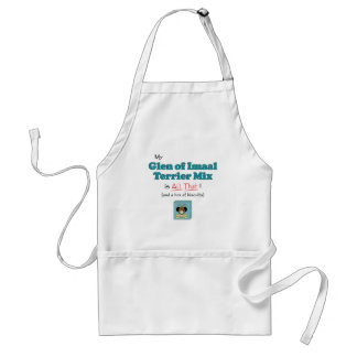 My Glen of Imaal Terrier Mix is All That! Adult Apron