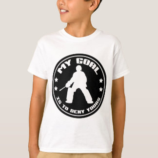 My Goal, Field Hockey (black) T-Shirt