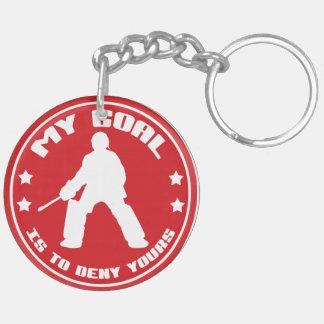 My Goal, Field Hockey Goalie Acrylic Keychain