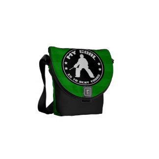 """My Goal"", Field Hockey Goalie Messenger Bag"