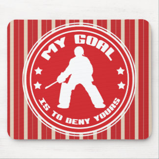My Goal, Field Hockey Goalie Mousemat Mouse Pad