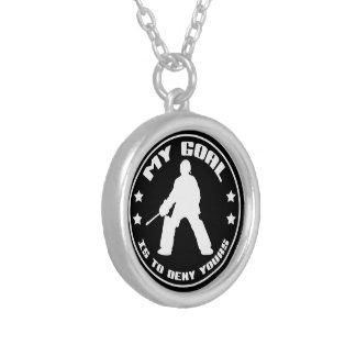 My Goal Field Hockey Goalie Necklace