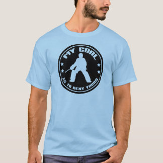 My Goal Field Hockey Goalie T-Shirt