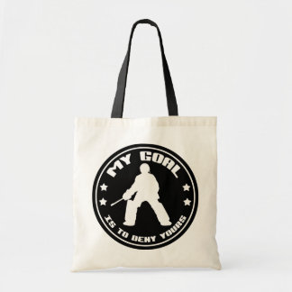 My Goal, Field Hockey Goalie Tote Bag