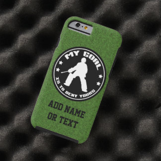 My Goal Field Hockey Goalie Tough iPhone 6 Case