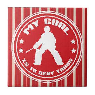 My Goal, Field Hockey (red) Tiles
