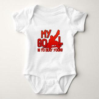 My Goal, Hockey Goalie Baby Bodysuit