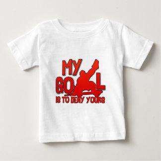 My Goal, Hockey Goalie Baby T-Shirt