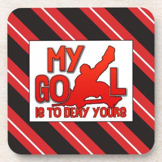 My Goal, Hockey Goalie Cork Coasters