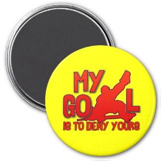 My Goal, Hockey Goalie Magnet