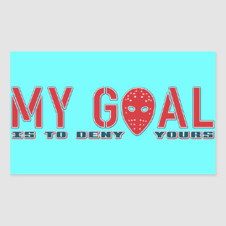 My Goal, Hockey Goalie Stickers