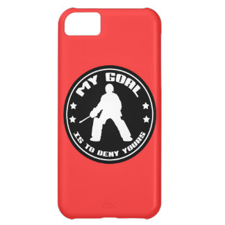My Goal Is To Deny Yours, Hockey iPhone Case