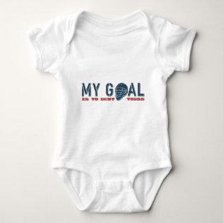 My Goal (Lacrosse) Baby Bodysuit