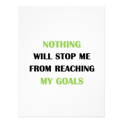 My Goals Letterhead Template