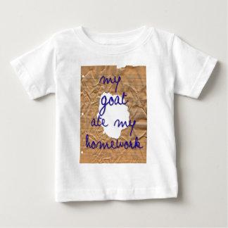 My Goat Ate My Homework Baby T-Shirt