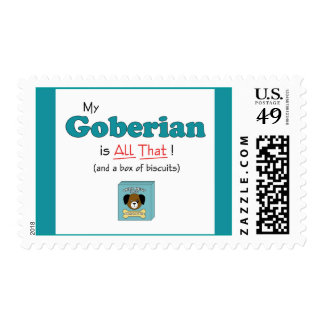 My Goberian is All That! Postage