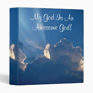 My God Is An Awesome God- Designer Binder