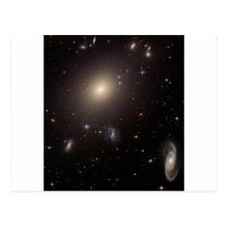 My God... It's Full of Galaxies! Postcard