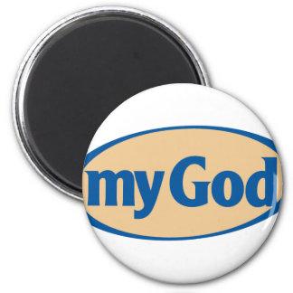 My God logo Magnet