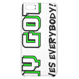 My God loves everybody Christian saying Case For iPhone 5C