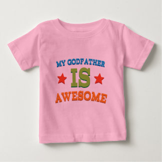 My Godfather is Awesome Baby T-Shirt