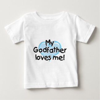My Godfather loves me (blue) Tees
