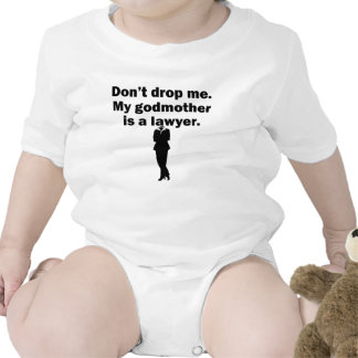 My Godmother Is A Lawyer Baby Bodysuit