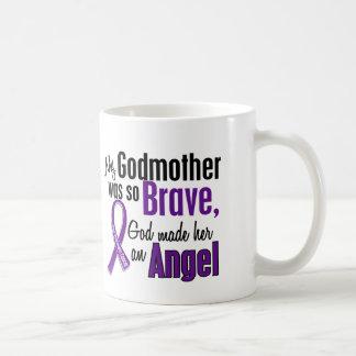 My Godmother Is An Angel 1 Pancreatic Cancer Coffee Mug