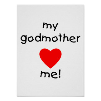 My Godmother Loves Me Poster