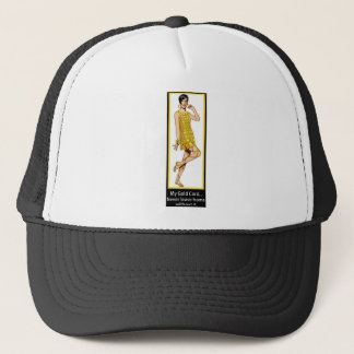 MY GOLD CARD...NEVER LEAVE HOME WITHOUT IT TRUCKER HAT