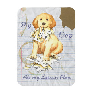 My Golden Ate My Lesson Plan Magnet