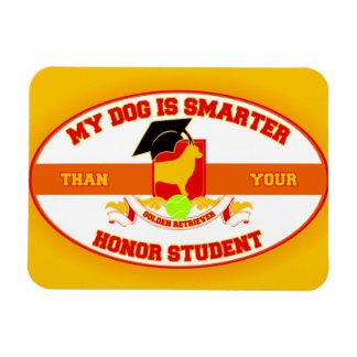 My Golden Is Smarter Rectangular Photo Magnet