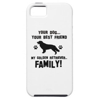My golden retriever family, your dog just a best f iPhone SE/5/5s case