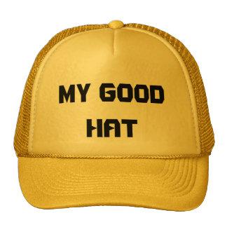 MY GOOD HAT