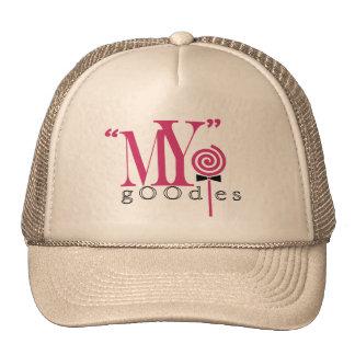 """""""MY"""" gOOdies Trucker Hat (tan)"""