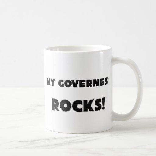 MY Governess ROCKS! Coffee Mugs