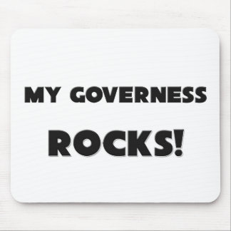 MY Governess ROCKS! Mouse Mat