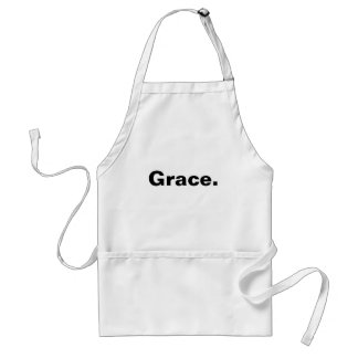 My grace is sufficient for you adult apron